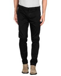Dondup - Black Casual Pants for Men - Lyst