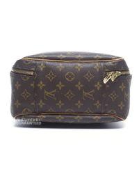 Louis Vuitton - Brown Pre-owned Monogram Canvas Excursion Shoe Bag - Lyst
