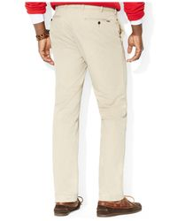 Polo Ralph Lauren - Natural Straight-Fit Hudson Chino Pants for Men - Lyst