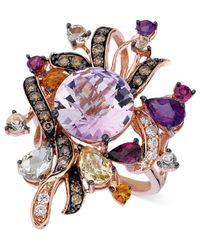 Le Vian | Purple Multistone (6-1/5 Ct. T.w.) In 14k Rose Gold | Lyst