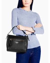 Kate Spade | Black Cobble Hill Small Harris | Lyst
