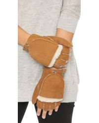 Mackage | Natural Orea Gloves | Lyst