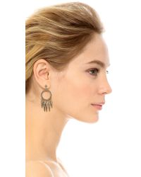 House of Harlow 1960 | Metallic Vibration Chandelier Earrings - Gold | Lyst
