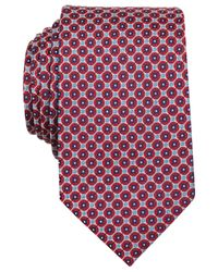 Perry Ellis | Red Ballas Neat Slim Tie for Men | Lyst