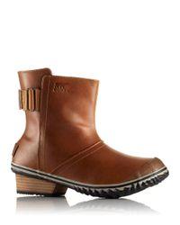 Sorel | Brown Waterproof Ankle Boots | Lyst