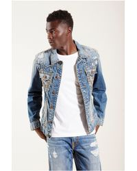 True Religion | Brown Jimmy Super T Jacket for Men | Lyst