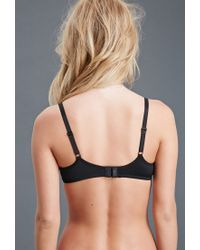 Forever 21 - Black Strappy Push-up Bra You've Been Added To The Waitlist - Lyst