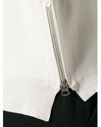Acne Studios - Natural Misty Jersey Sweatshirt - Lyst