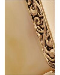 Lulu Frost - Metallic Cleo Gold-Plated Resin Talon Earrings - Lyst