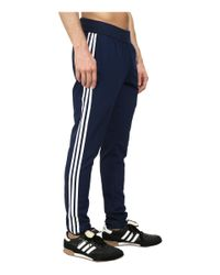 Adidas | Blue Slim 3s Woven Pant for Men | Lyst