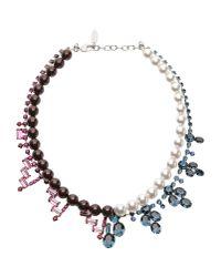 Joomi Lim - Brown Necklace - Lyst