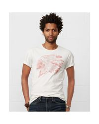 Denim & Supply Ralph Lauren - White Headdress Graphic Tshirt for Men - Lyst