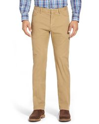 Peter Millar | Natural Stretch Cotton Hybrid Pants for Men | Lyst