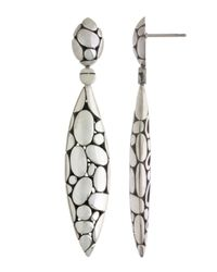 John Hardy | Metallic Kali Marquise-drop Earrings | Lyst