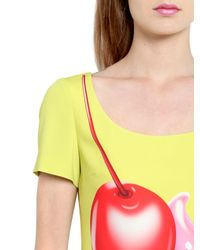 Boutique Moschino - Multicolor Cupcake Printed Techno Cady Dress - Lyst