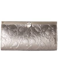 Patricia Nash | Metallic Folklore Tooled Cauchy Wallet | Lyst
