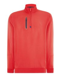 Bobby Jones - Red Xh20 Rtj2 1/4 Zip for Men - Lyst