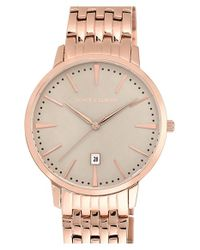 Vince Camuto | Metallic Round Bracelet Watch for Men | Lyst