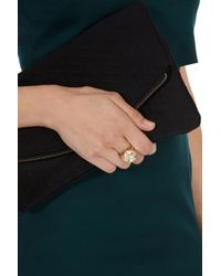 Coast | Metallic Deckla Ring | Lyst