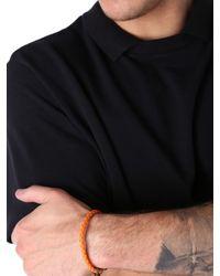 DIESEL - Orange Asanty Bracelet - Lyst