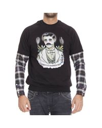 Frankie Morello | Black Sweater for Men | Lyst