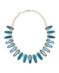 Kendra Scott - Blue Gabriella Statement Necklace - Lyst