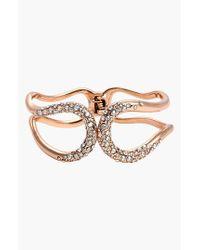Alexis Bittar | Pink 'miss Havisham - Liquid' Pave Encrusted Bracelet | Lyst