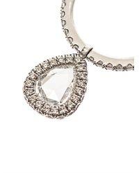 NSR Nina Runsdorf - Metallic Diamond & White-Gold Flip Ring - Lyst