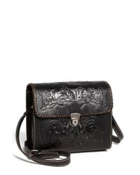 Patricia Nash | Black 'dante' Crossbody Bag | Lyst