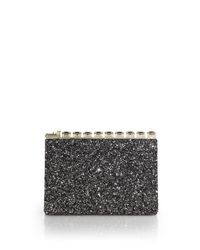 bbad849a9fd Lyst - Kate Spade All Aboard Emanuelle Clutch in Black