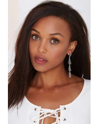 Nasty Gal | Metallic Slings 'n Arrows Drop Earrings | Lyst