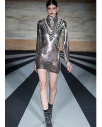 Matthew Williamson | Metallic Jewelled Chainmail Neckerchief | Lyst
