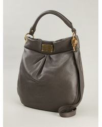 dc7ce02a9bc4e Marc By Marc Jacobs 'Classic Q Hillier' Hobo Bag in Gray - Lyst