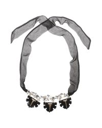 DSquared² | Black Necklace | Lyst