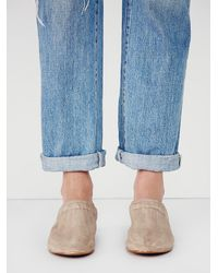 Free People | Brown Porter Slip On Mule | Lyst