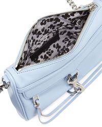 Rebecca Minkoff - Blue Mini Mac Crossbody Bag - Lyst