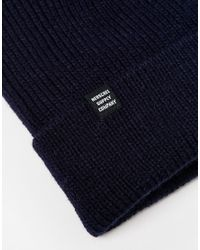 Herschel Supply Co. | Blue Selkirk Beanie for Men | Lyst