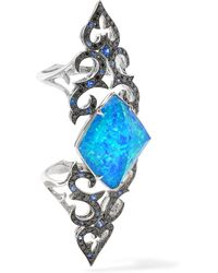 Stephen Webster | Metallic Belle Epoque 18-karat White Gold Multi-stone Ring | Lyst
