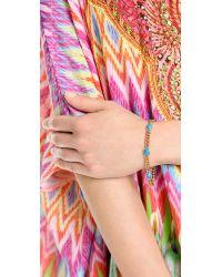 Alexis Bittar - Blue Mosaic Chain Link Bracelet - Lyst