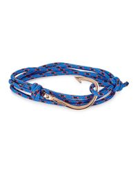 Miansai | Blue Rope Wrap Bracelet for Men | Lyst