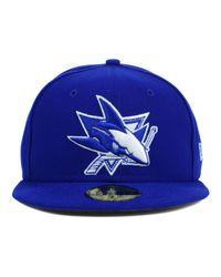 KTZ | Blue San Jose Sharks C-dub 59fifty Cap for Men | Lyst