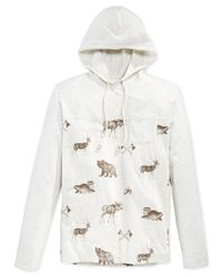 American Rag | Natural Critter Town Hoodie for Men | Lyst