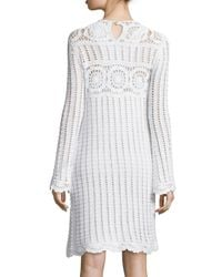 Étoile Isabel Marant - White Harriet Crochet Dress  - Lyst