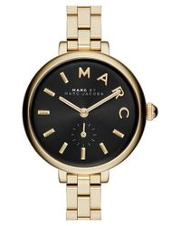 Marc Jacobs | Metallic 'sally' Bracelet Watch | Lyst