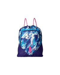 Under Armour | Pink Ua Undeniable Sackpack | Lyst