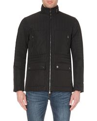 Michael Kors | Black Quilted Pocket-detail Shell Jacket - For Men for Men | Lyst