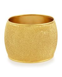 Stephanie Kantis | Metallic Medium Hammered Bangle Bracelet | Lyst