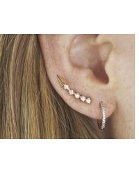 Loren Stewart | Metallic Triangle Arc Ear Pin | Lyst