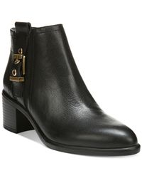 Franco Sarto | Black Eminent Booties | Lyst