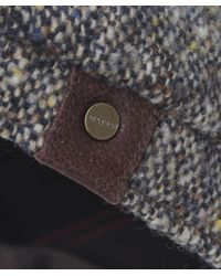 Stetson - Gray Donegal Tweed Cap for Men - Lyst